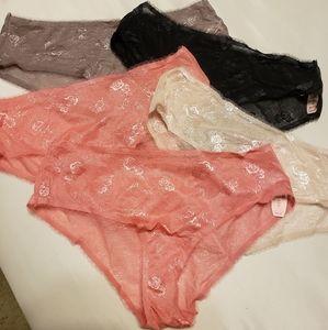 VS Lace Panty Bundle